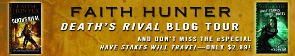 Blog Tour: Death's Rival by Faith Hunter