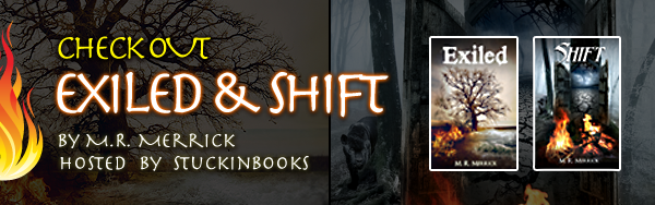 Exiled & Shift Excerpt & Giveaway!