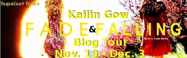Quickie Reviews for Fade & Falling Book Tour by Kailin Gow