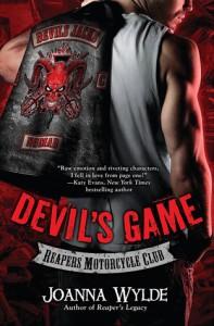 Release Day Blast: Devil's Game by Joanna Wylde