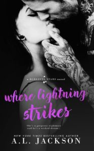 Sales Promo for Where Lightening Strikes by A.L. Jackson