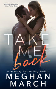 Cover Reveal: Take Me Back by Meghan March