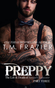 Cover Reveal: Preppy Part Three by T.M. Frazier
