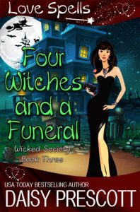 New Release & Review: Four Witches and a Funeral by Daisy Prescott