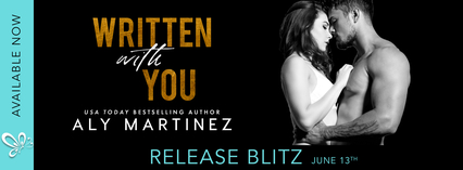 Release Blitz: Written With You by Aly Martinez