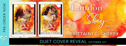 Duet Cover Reveal: Landon & Shay by Brittainy C. Cherry