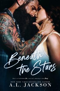 Cover Reveal: Beneath the Stars by A.L. Jackson